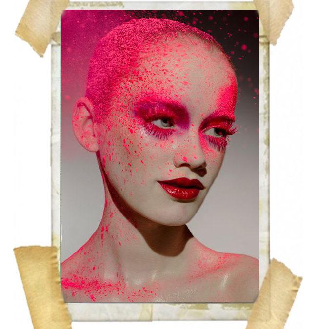 Moment Of Spray Paint Makeup Brose Nose